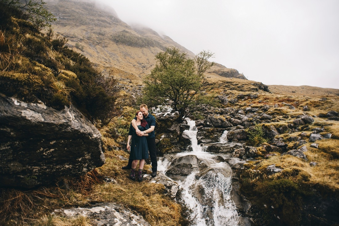 Sarah & Thomas - Glencoe Wedding Photographer 7