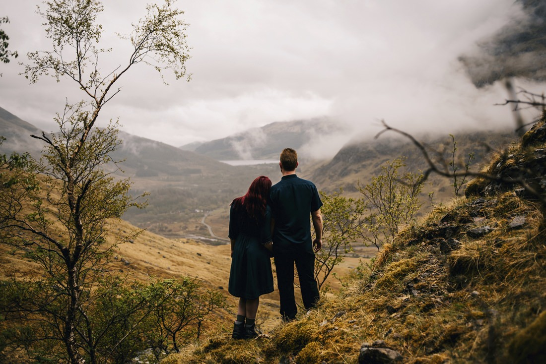 Sarah & Thomas - Glencoe Wedding Photographer 10