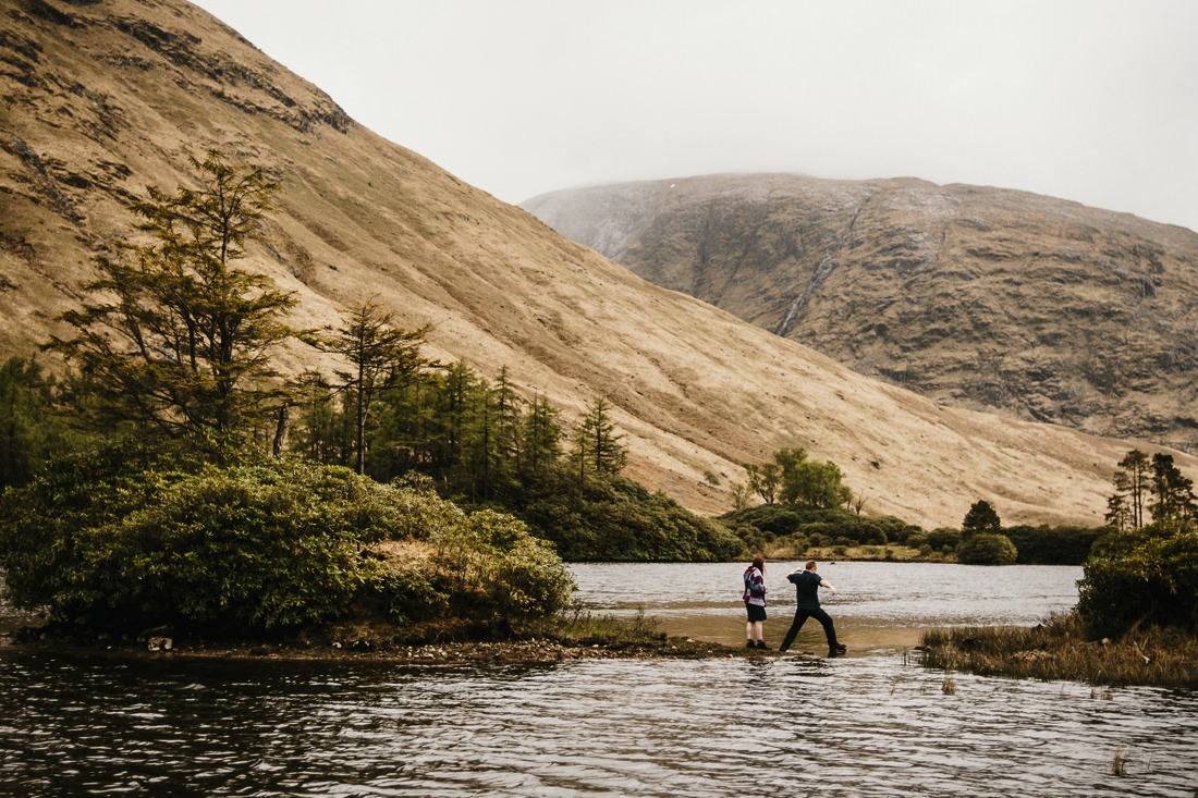 Sarah & Thomas - Glencoe Wedding Photographer 20