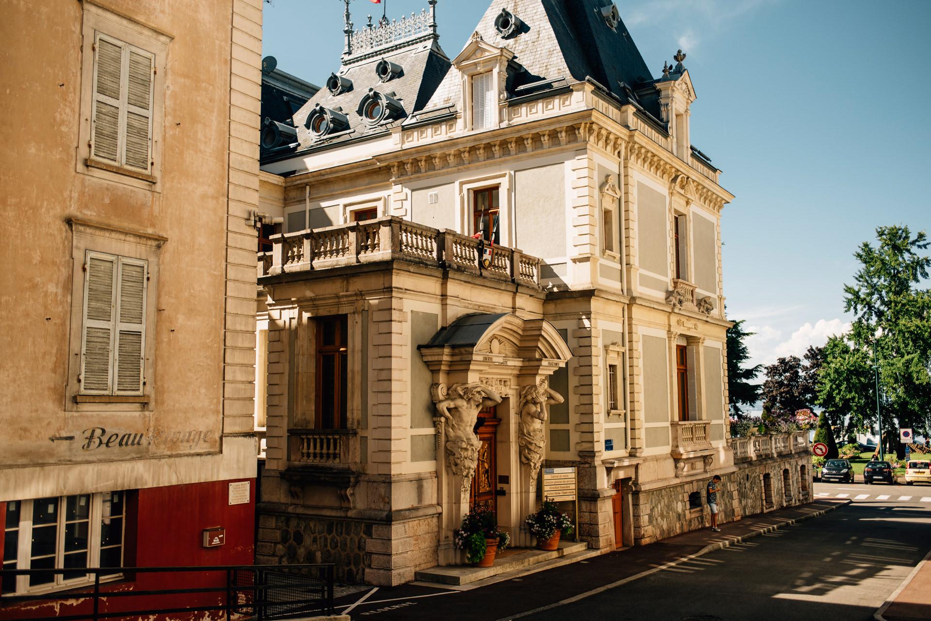 Evian les Bains, France | Magdalena & Sacha 5