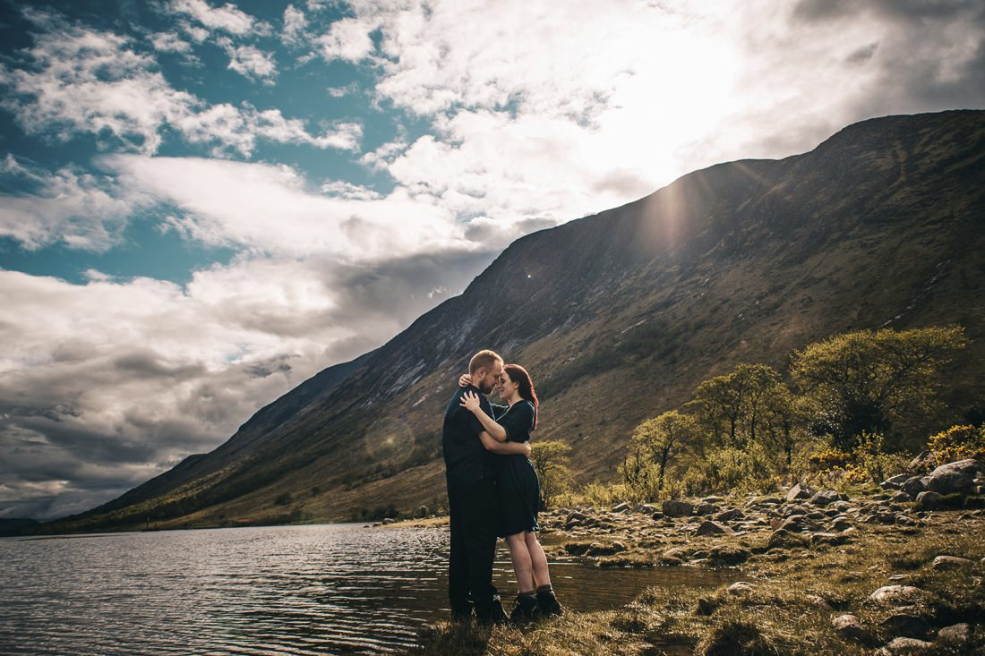 Sarah & Thomas - Glencoe Wedding Photographer 33