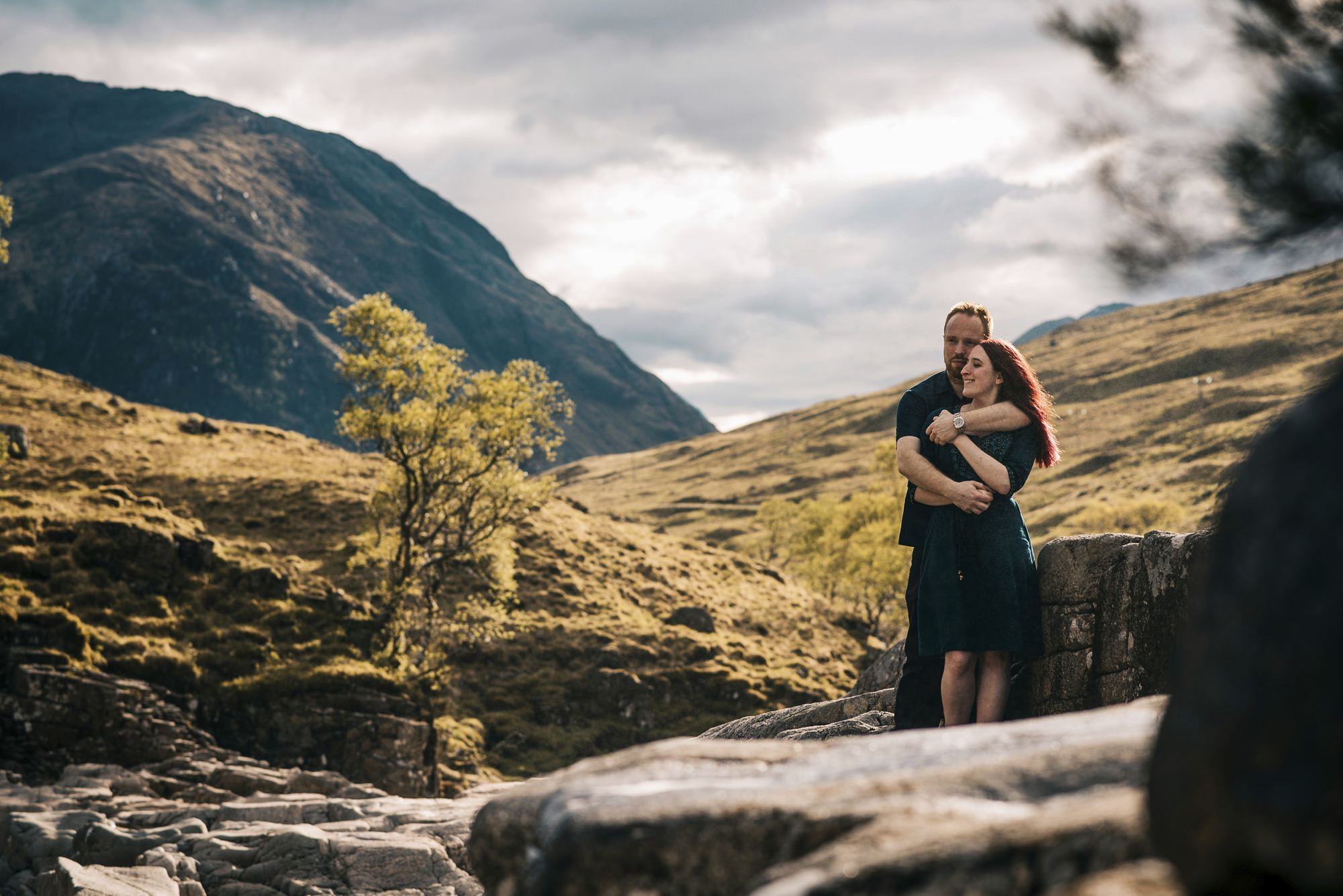 Sarah & Thomas - Glencoe Wedding Photographer 43