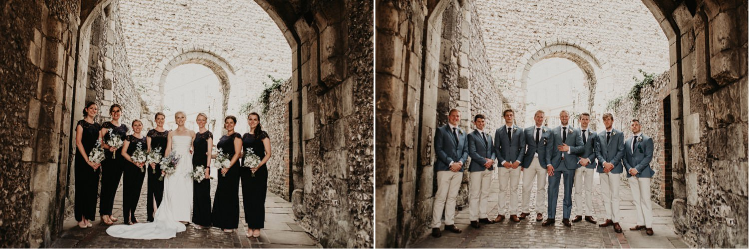 Lewes Castle Wedding Photography