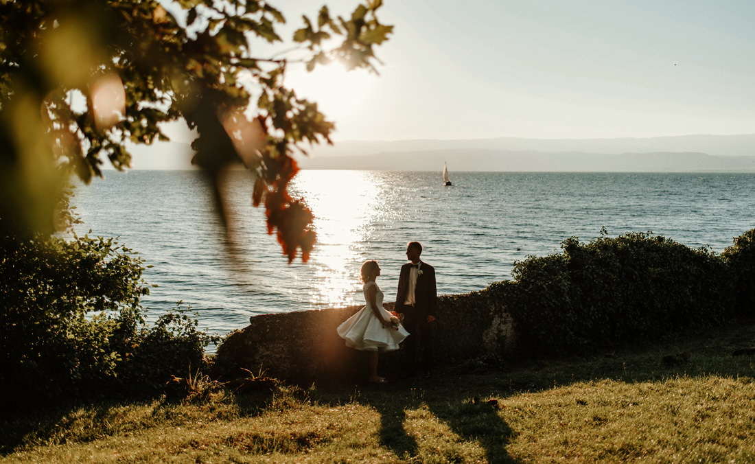Magdalena & Sacha - Evian les Bains - France Wedding Photographer 72