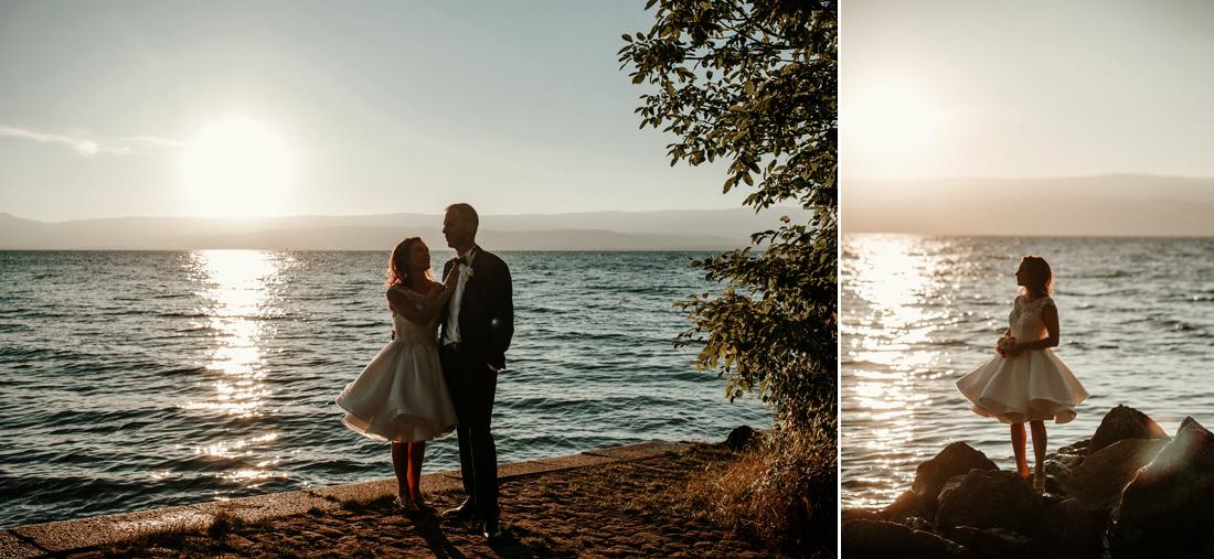 Magdalena & Sacha - Evian les Bains - France Wedding Photographer 73