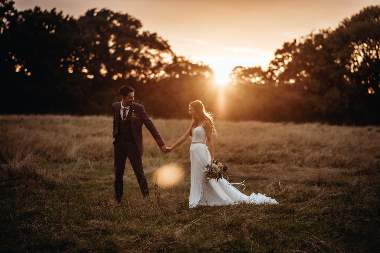 Modern Boho Wedding Dress